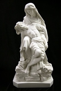Pieta Statue Religious Mother Sorrow Statue of Michelangelos pieta Statue