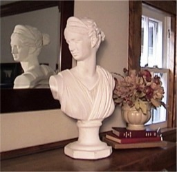 Bust of Diana Huntress statue bust marble italian busts