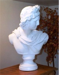 Apollo Bust life size bust of Apollo Greek Bust famous busts