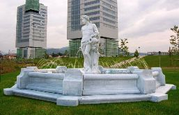 large statue fountains cast marble fountains god fountains of Bacchus