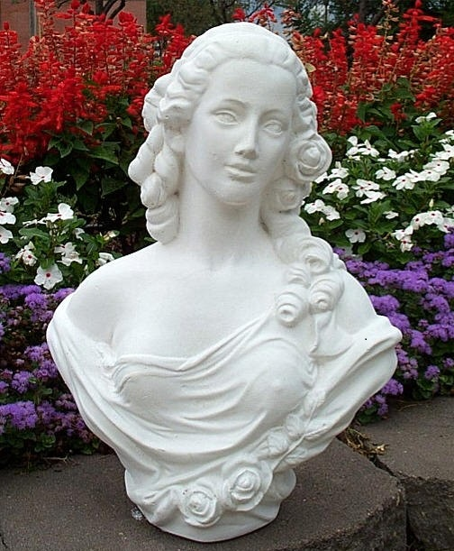 Lady Bust Statue Marble Cast Busts Maiden Bust Famous