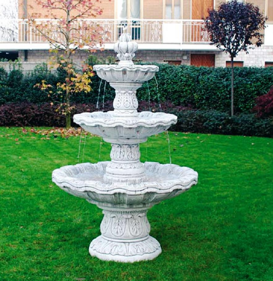 Italian Outdoor Fountains Cast Large Marble Statue Fountain