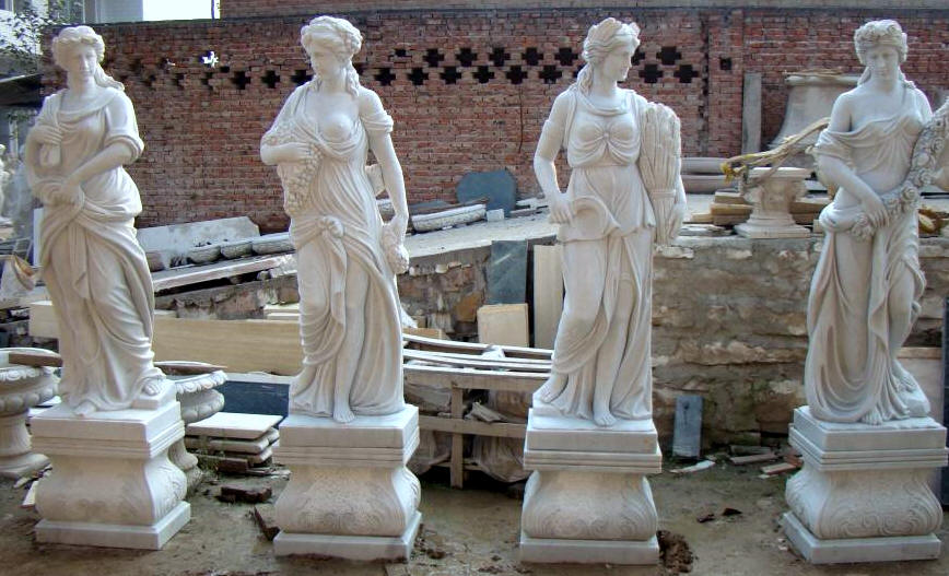 Incroyable Outdoor Cast Statues |Italian Large Greek Marble, Godees Garden Statue  Sculptures