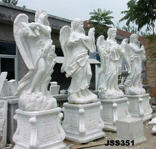 Four seasons statue sculptures marble 4 season statue for Statue moderne jardin
