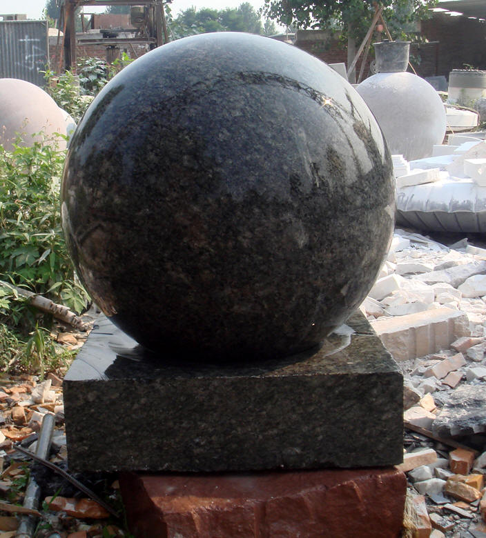 Granite Floating Ball Fountain Granite Sphere Ball