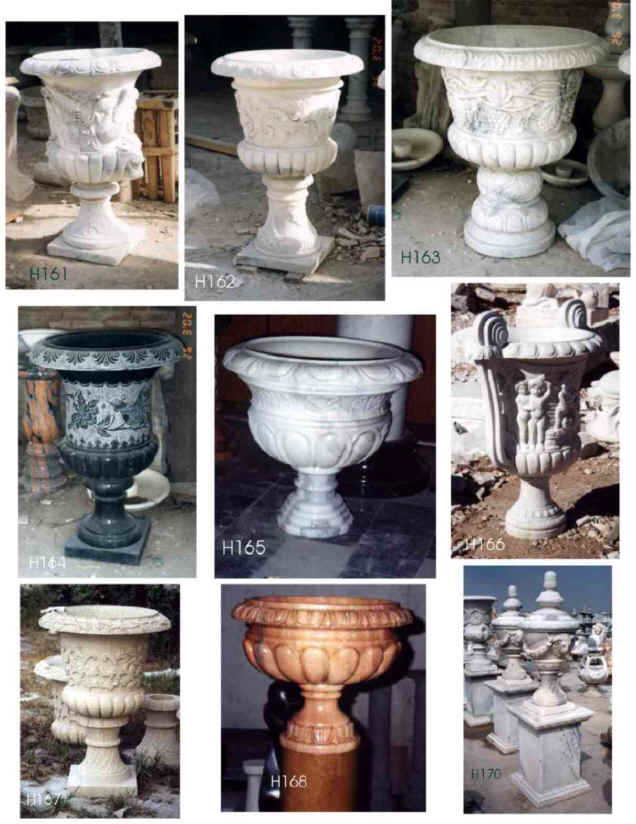 Outdoor Planters Indoor Pottery Flower Pots And Urns Italian Marble