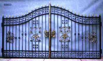 Cast Iron Gates , outdoor iron decor fenceiron Works Estate gates