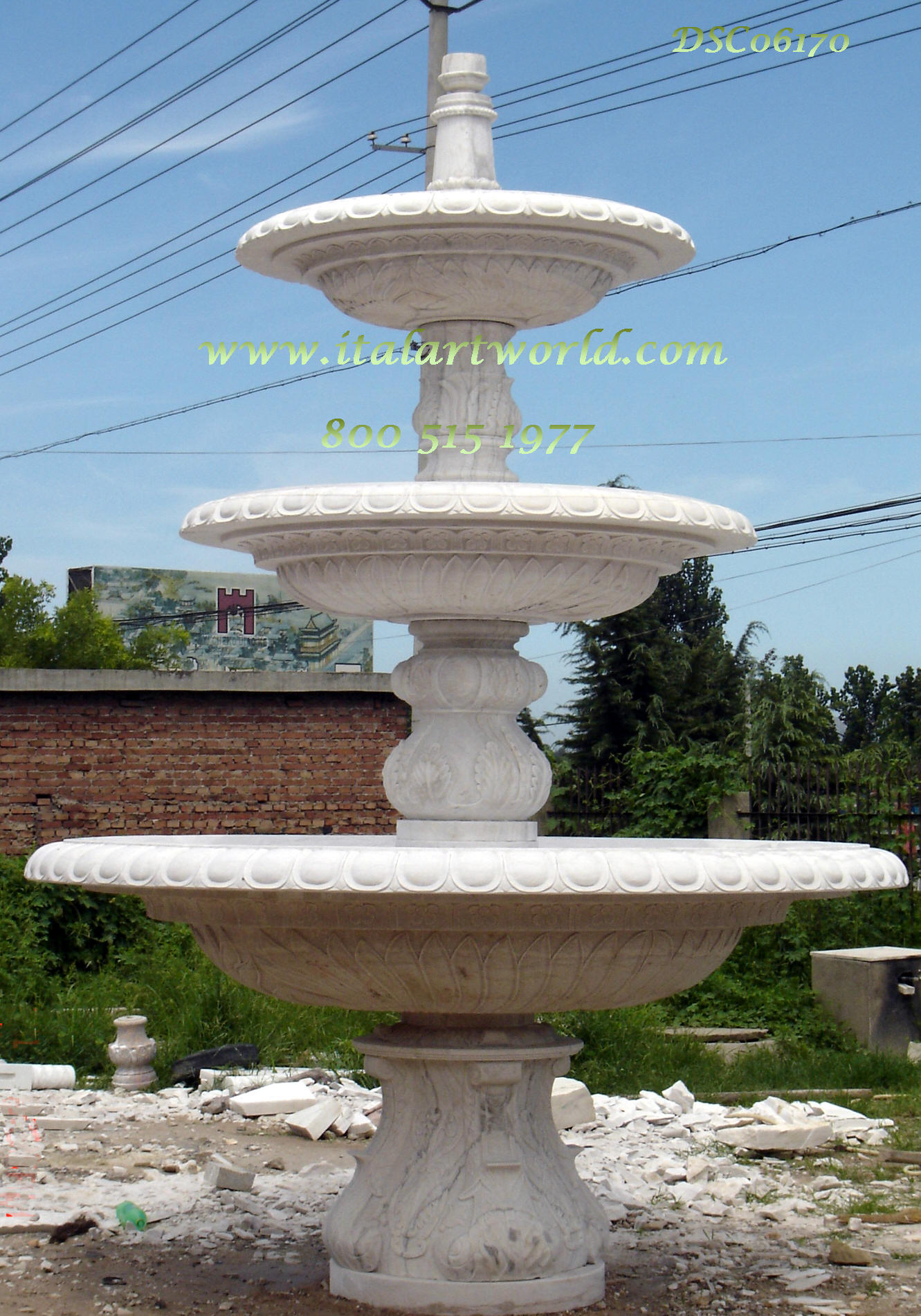 Large Marble Fountain Classic Fountains Italian Tiered