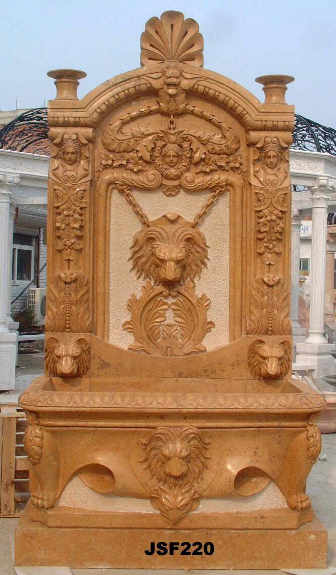 Wall Fountains Carved Outdoor Fountains Italian Marble
