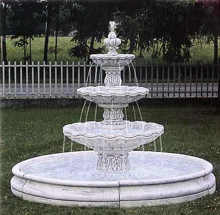 Bon Three Tired Marble Fountain Outdoor Fountains Bonded Marble Fountains Of  Venice