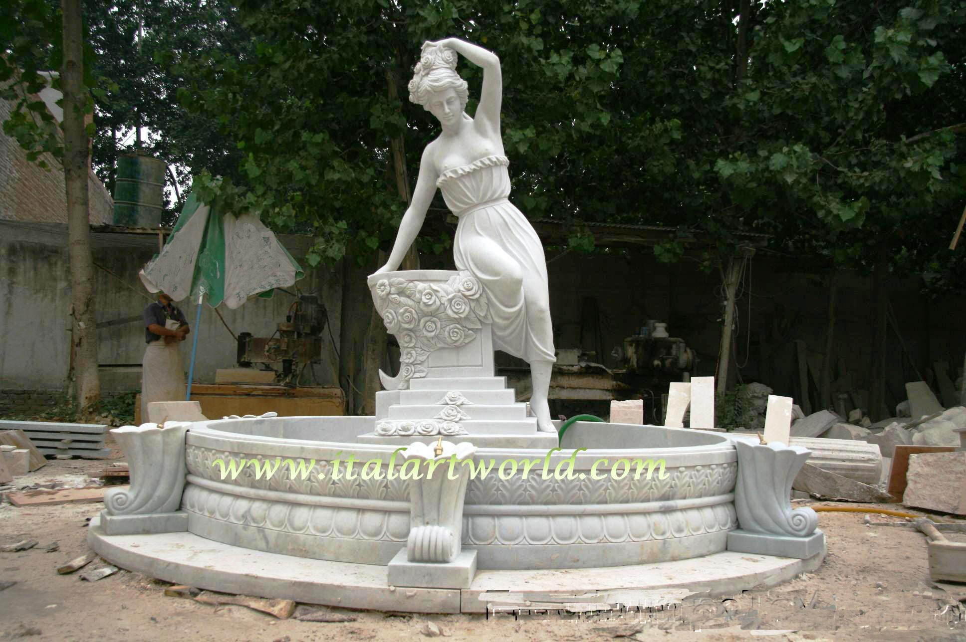 Wholesale Statuary Hand Carved Sculpture Marble Art