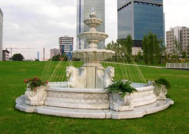 outdoor fountain large pools fountain horse fontains