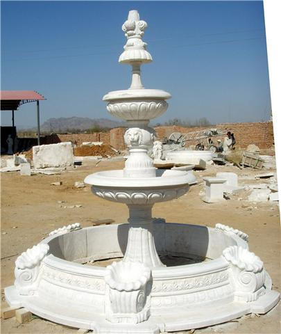 Classic tiered MArble Fountain MAde in Italy Fountains Cast Fountain