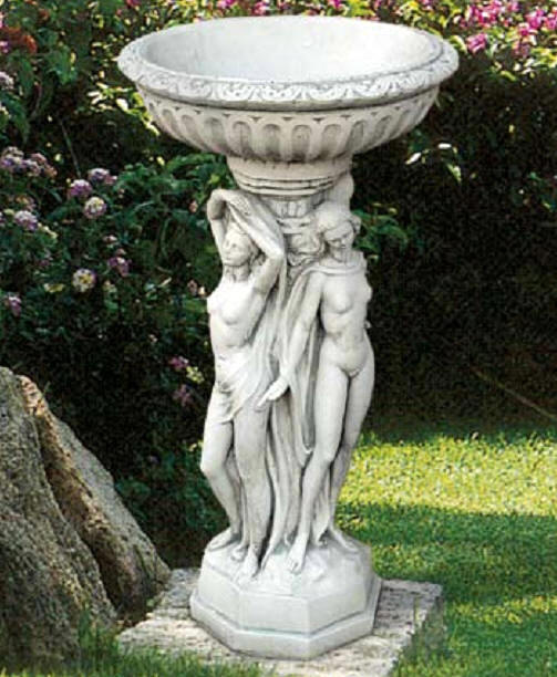 Garden Decor Column Italian Statuary