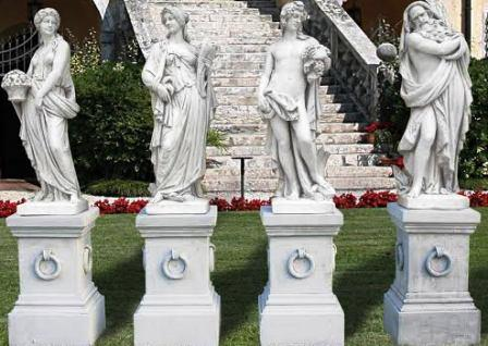 4 Seaoan Set Statues Carved Statue of 4 Seasosn outdoor four Seasons Statuary sclptures woman Statue Four set