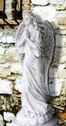 Winged Statue of An Angel Marble Statue Angel Outdoor  statue wings