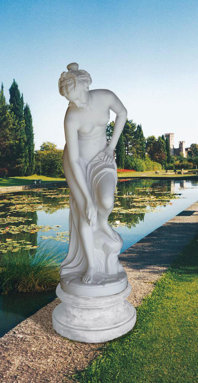 statue Bather by Allegrian Aphrodite marble Statues