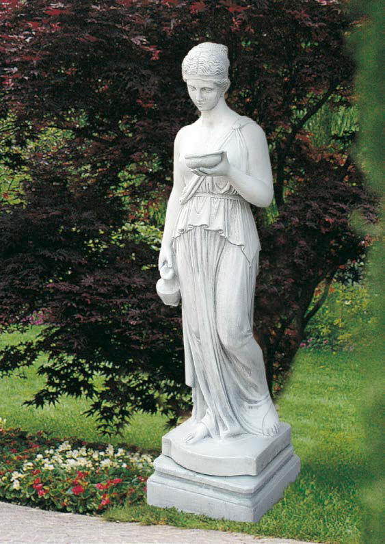 Charming Large Marble Statue Hebe , Goddess Hebe Statue, Venus Hebe Statuary,  Outdoor Sculptures.