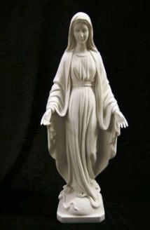 MADONNA STATUES SACRED HEART MARY VIRGIN MARY STATUE SCULPTURES