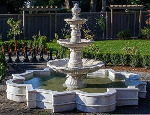 3 Tiered Water Fountain Classical Italian Pool Fountain