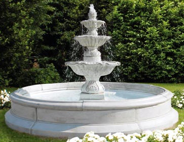 Large Fountain Tiered Marble Fountains cast