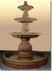 Cast Stone Statues,Concrete fountain outdoor concrete cement art  Italian Wall Fountains, Italian Pedestal Fountains.