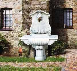 wall fountains  courtyard Italian fountains  Marble Wall Fountains.